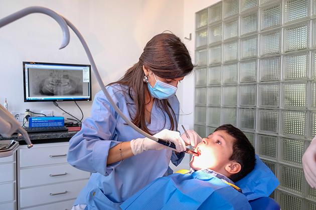 As crianças e a saúde oral